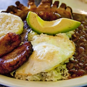 Eating like a Colombian